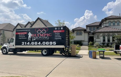 Olympic moving residential service