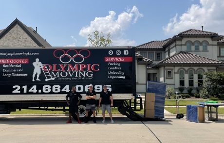 Olympic Moving Residential Services Dallas-Fort Worth